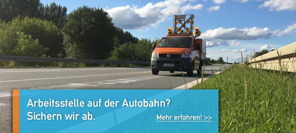 Tagesbaustellen Autobahn